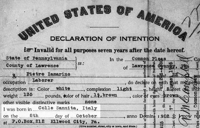 Naturalization papers can provide birth dates and places -- sometimes for an entire family.