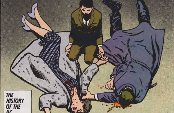 death of Thomas and Martha Wayne