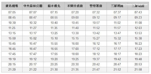 廣島機場-JR三原站~花小錢去旅行