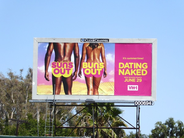 Dating Naked season 3 Suns out Buns out billboard