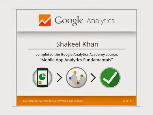 Google Analytics-Mobile App Analytics Fundamentals