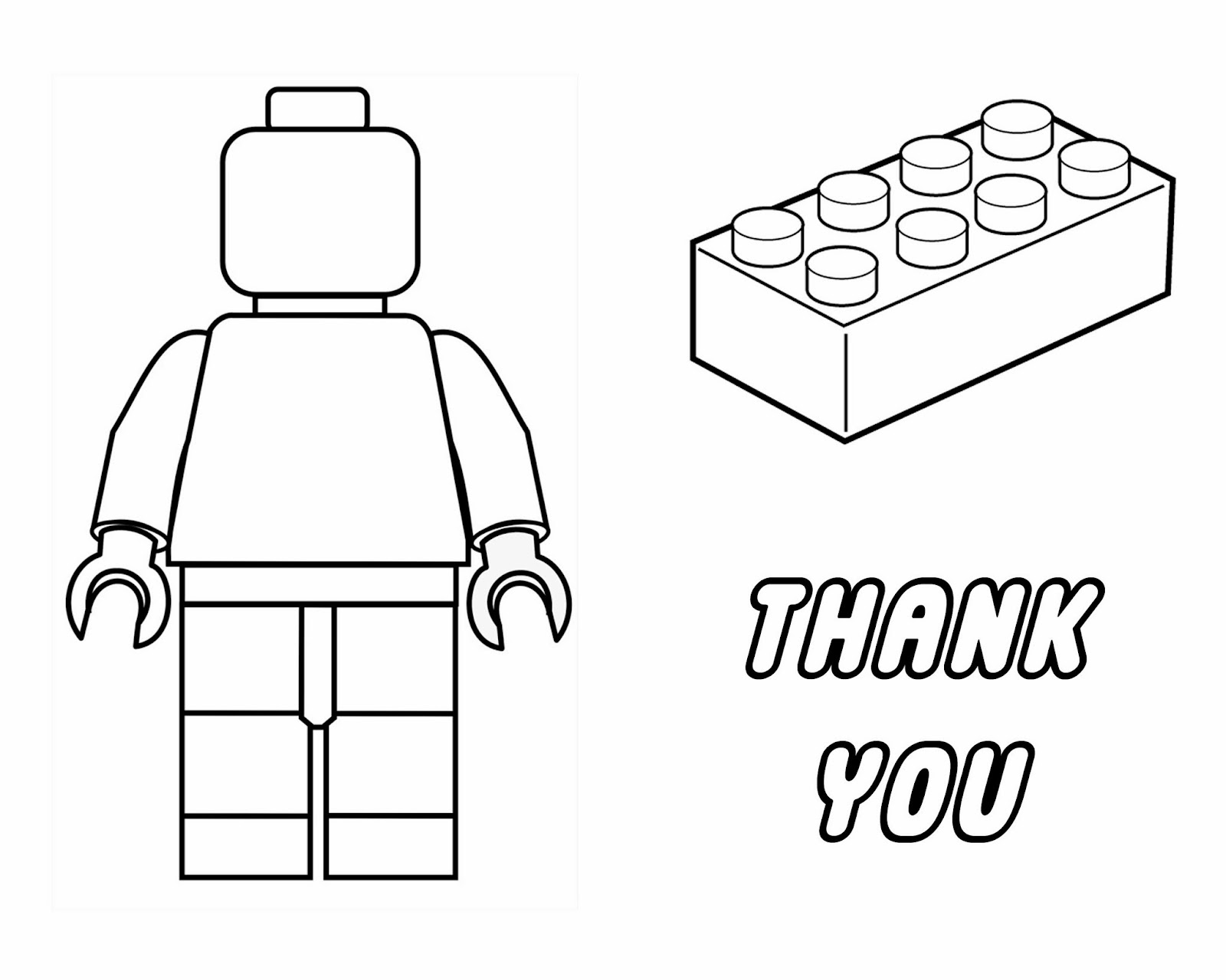 lego coloring pages printables | HeidiandFinn modern wears for kids: Lego Party - birthday ...