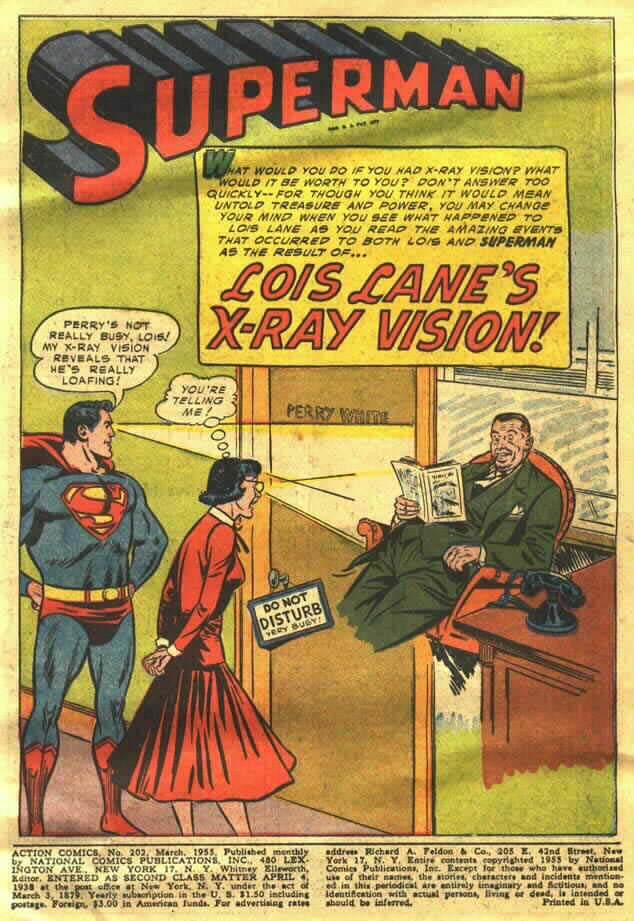 Read online Action Comics (1938) comic -  Issue #202 - 3