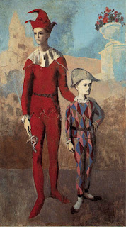 """""""Acrobat and Young Harlequin"""", Pablo Picasso"""
