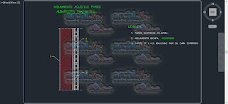 download-autocad-cad-dwg-file-details-Acoustic insulations-with-plaster-panels