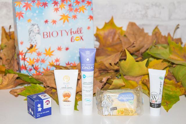 C'est l'automne avec la Biotyfullbox du mois d'octobre