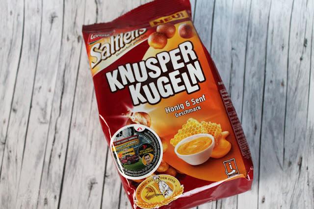 Lorenz Saltletts KnusperKugeln Honig & Senf