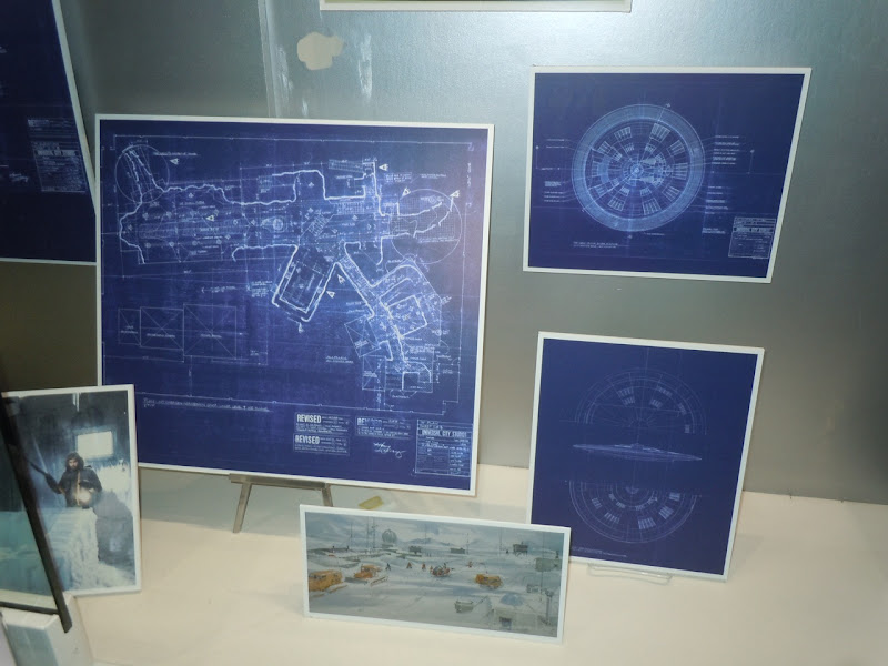 The Thing 1982 film set blueprints