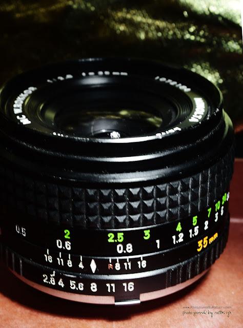Minolta Rokkor 35mm f/2.8 Prime Lens (Minolta MD Mount, Serial #1072184)