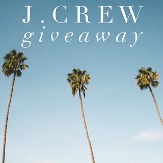 Enter the $150 J.Crew Gift Card Giveaway. Ends 9/12