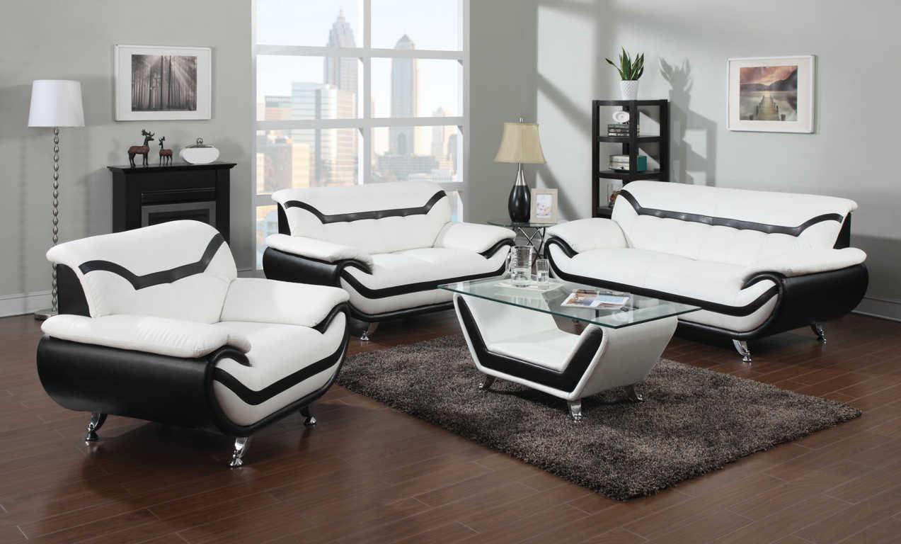 Desain Ruang Tamu Hitam Putih Inspirasi Desain Rumah Dan
