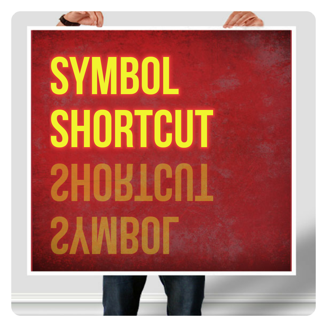 Gr solution add special symbols in windows with shortcut key add special symbols in windows with shortcut key buycottarizona Images