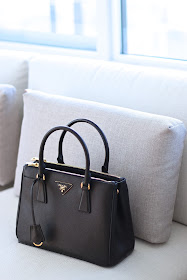 Prada Saffiano Double Zip Handbag Review