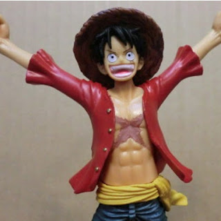 One Piece Anime PVC Luffy Action Figure