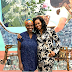 Michelle Obama pays a visit to Late Dora Akunyili Daughter's studio, Njideka Akunyili Crosby