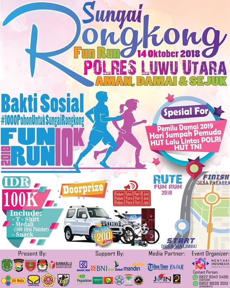 Sungai Rongkong Fun Run • 2018