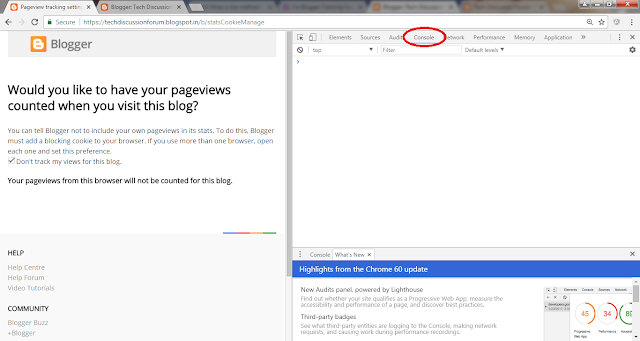 Cara Setting Don't Track Your Own Pageviews Blog Secara Permanen