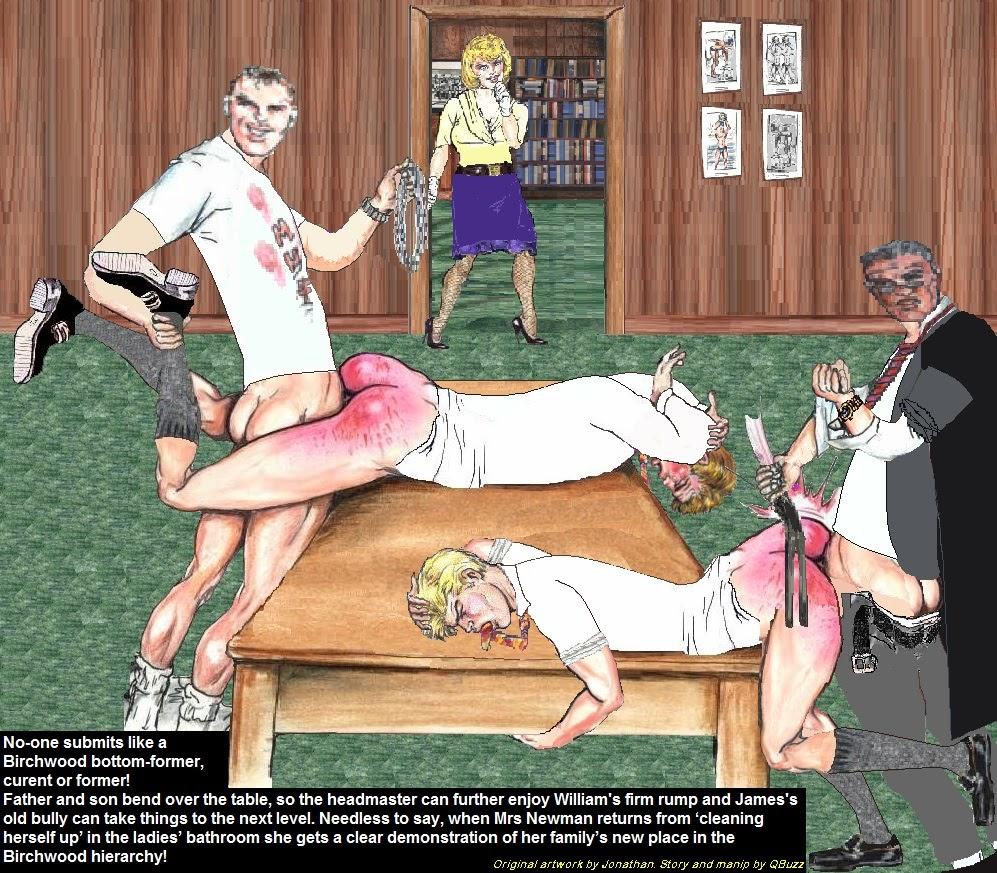 Matron spank story