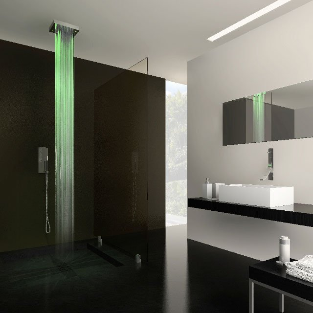 Drops Lighted Shower by Cisal! Home Decor