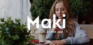 تحميل تطبيق Maki Plus: Facebook and Messenger in one application