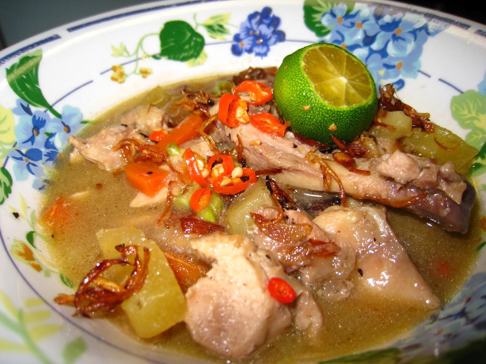 Sup Ayam: Resepi Mudah yang Sedap dan Berkhasiat