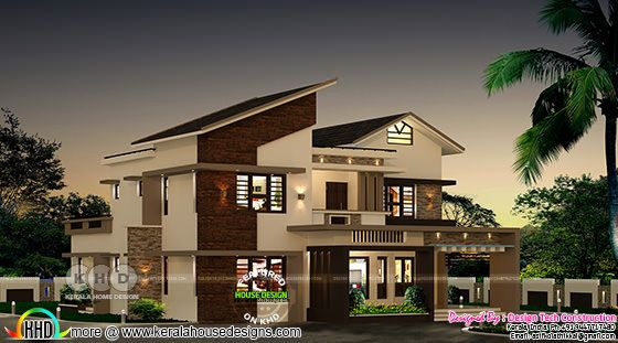 New home design by Design Tech Construction