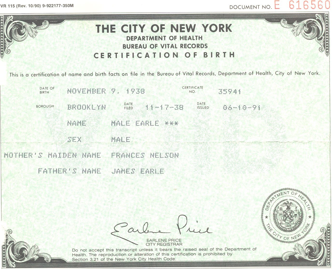 Missouri birth certificate 1betcityfo Image collections