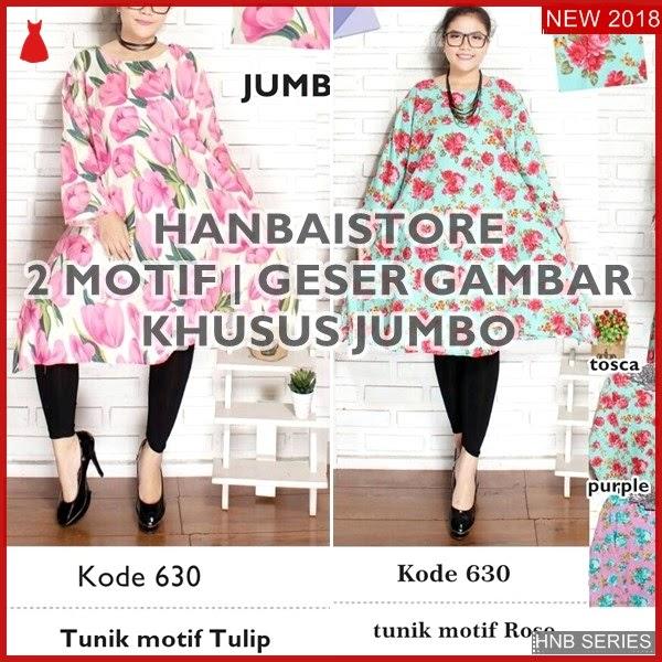 HNB085 Model Baju Ukuran Besar Jumbo Blouse Kiko BMG Shop