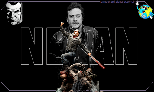 The Walking Dead, HQ, TV, séries, Negan, Jeffrey Dean Morghan, Terra de Nerd