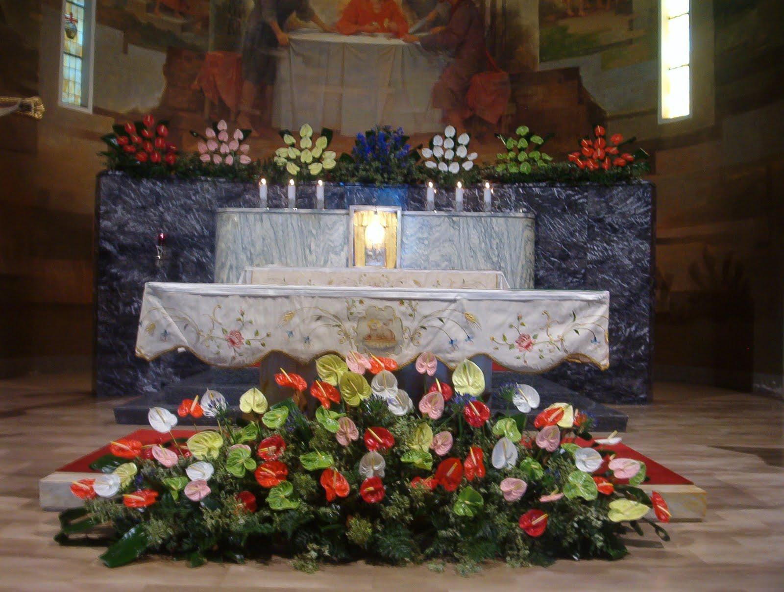 Preferenza Arte Floreale per la Liturgia: (I sette doni dello Spirito Santo) ZR23