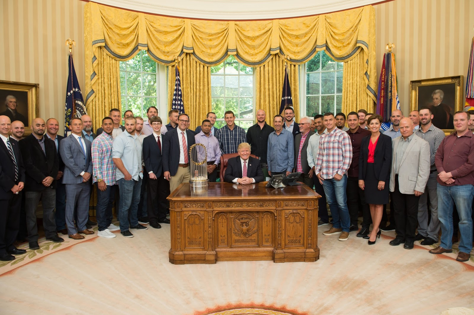 President Donald J. Trump and the 2016 World Series Champions