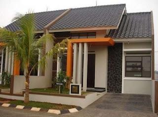 bentuk rumah sederhana di kampung