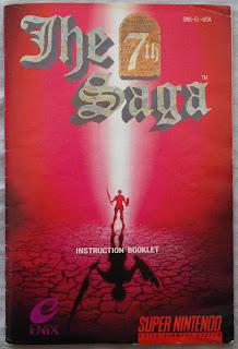 The 7th Saga - Manual portada