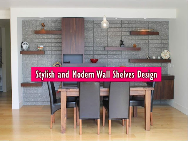 "Walls in our home should not be boring. Aside from picture frames, and other decoration, one beautiful addition is a wall shelf. This can be functional storage option and offers a stylish design to your vacant wall space. Dress up any walls in your home with wall shelves where you can create a classic or traditional look. You can add some lights to complete the entire look of your interior. Some of this shelves can be ""Do It Yourself"" if you have that spirit of creativity within you. Here is some beautiful inspiration to have one or more shelves in the house."