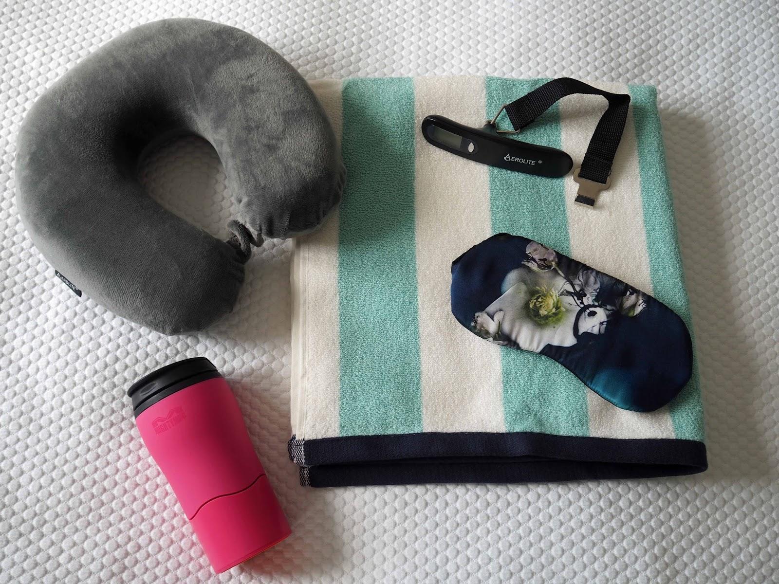 Travel essentials for Nerja