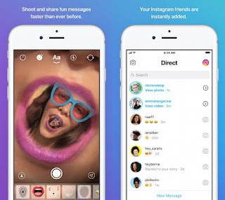 Instagram separates messaging feature into a new app called Direct, currently in testing