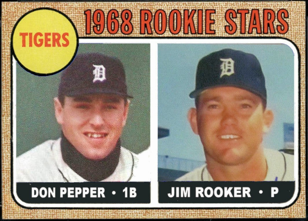 Cards That Never Were 1968 Detroit Tigers By Request