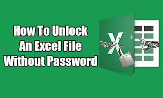 How To Unlock An Excel File Without Password