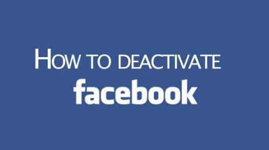 How to Deactivate Facebook Page