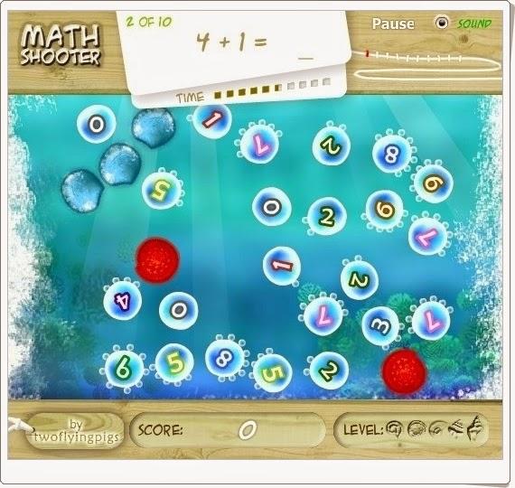 http://juegoseducativosonlinegratis.blogspot.com/2013/06/math-shooter.html