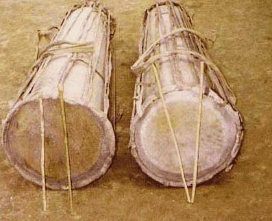 Santali Musical Instruments dhak