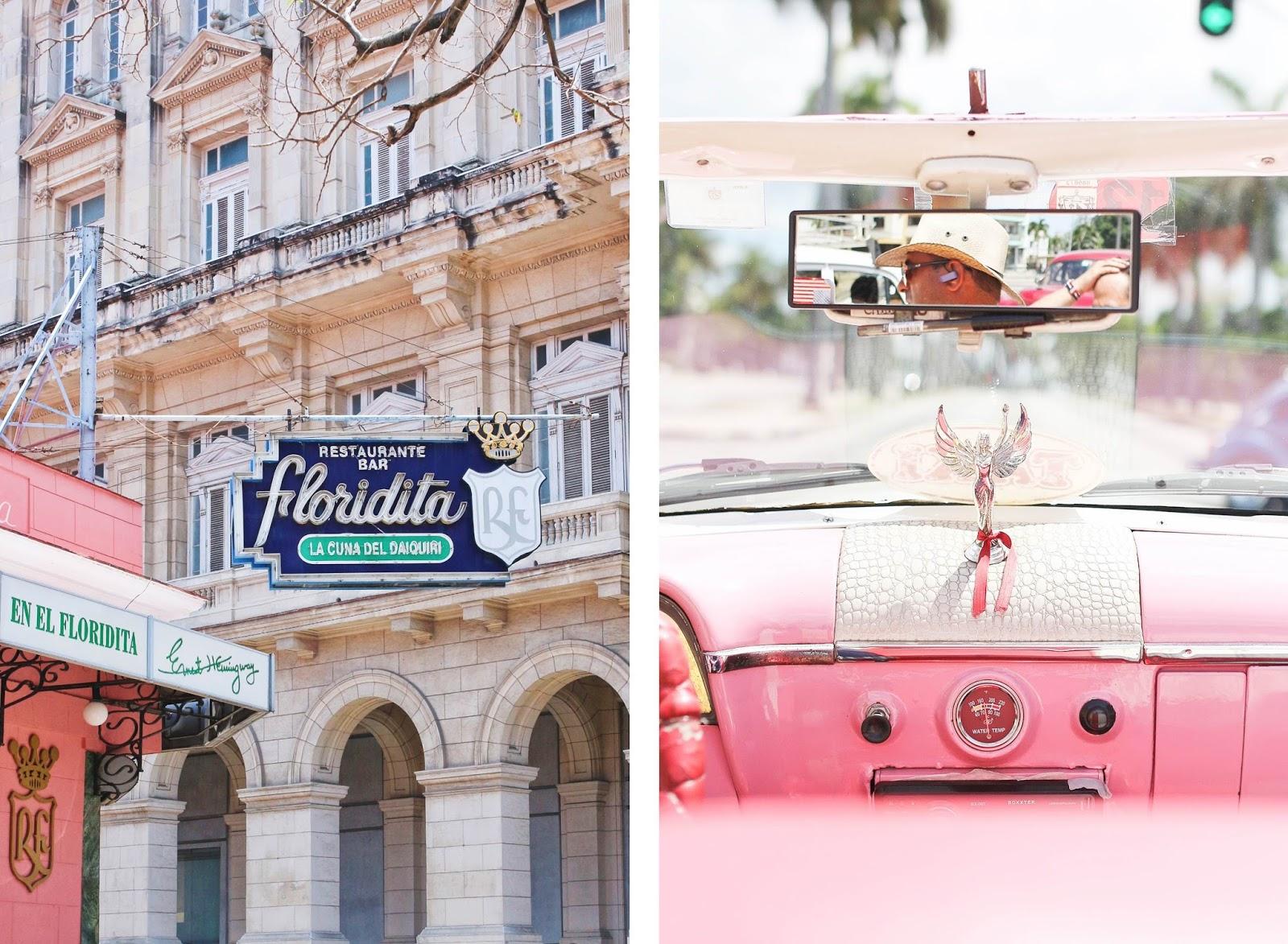 """Le restaurant/bar """"El Floridita"""" à La Havane - Cuba"""