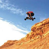 mountain boarding
