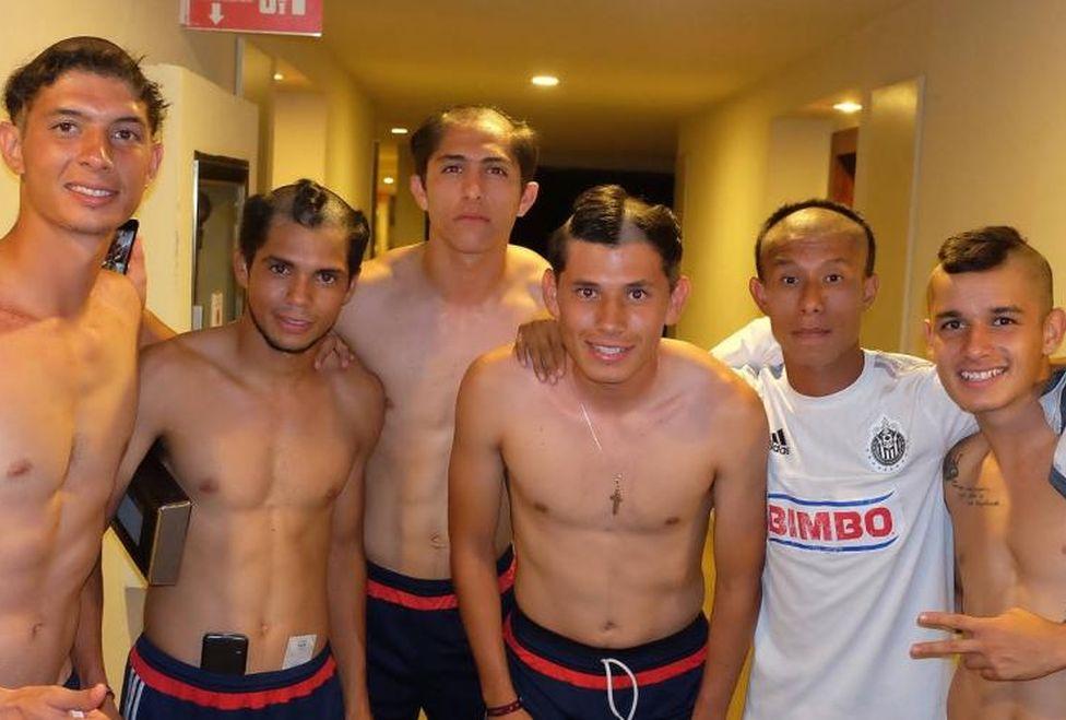 Miguel Nuño, Josué Lázaro, Mauro Contreras, Michelle Benítez, Alan Cervantes y Edson Torres.