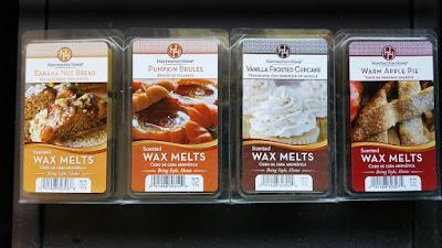 Aldi Wax Melts (Huntington Home) - Fall 2017 Scents