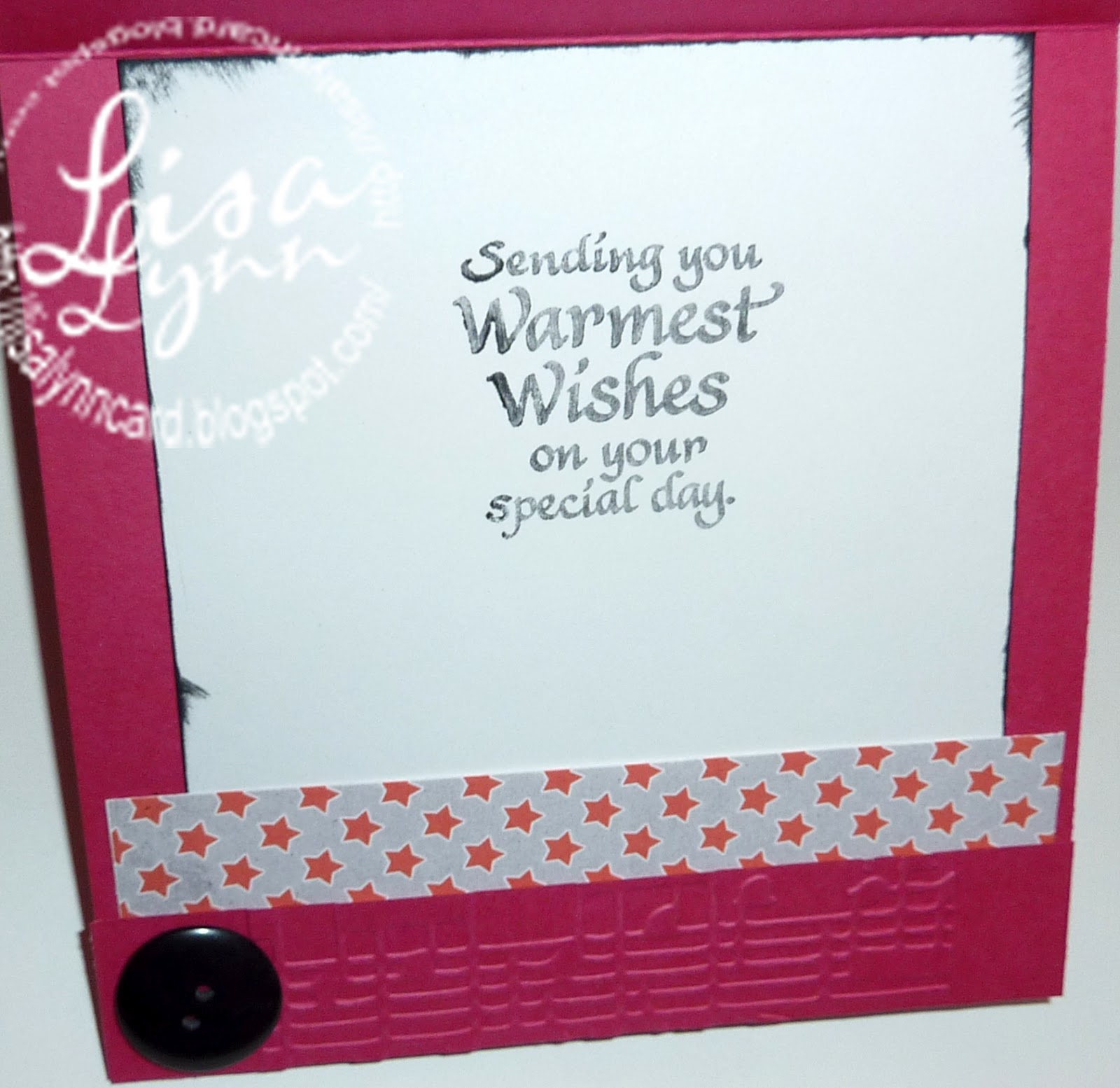 Lisa Lynn S Card Creations Happy Birthday Judy