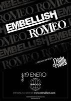 Concierto de Romeo, Emebllish y Dirty Rules en Siroco