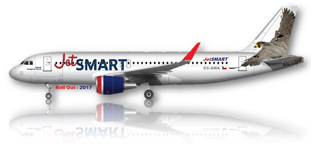 Jet Smart: Roll Out: Llega A Chile JetSMART