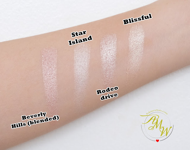 a swatch photo of Ofra All Glowed Up Review by Nikki Tiu of www.askmewhats.com