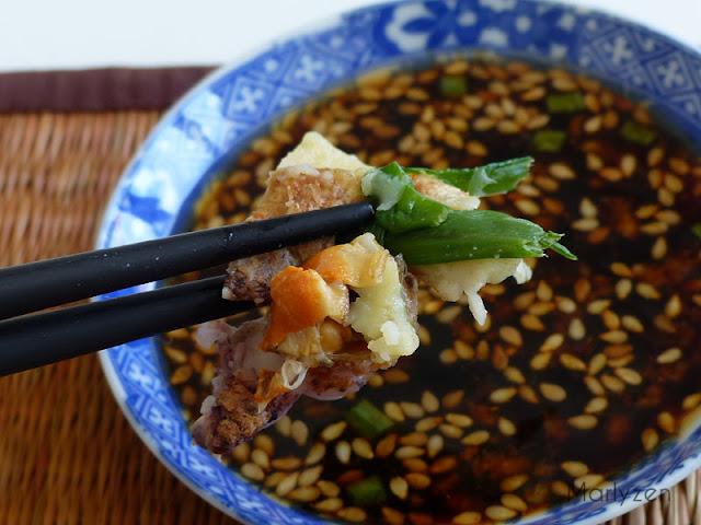 Haemul pajeon : crêpe coréenne aux fruits de mer